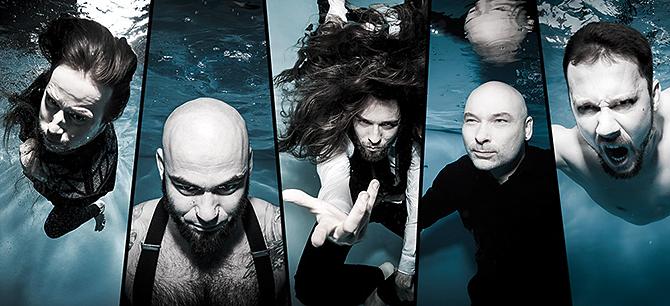 Band Shooting Unterwasser